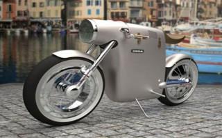 酷味十足的 Monocasco 环保摩托车