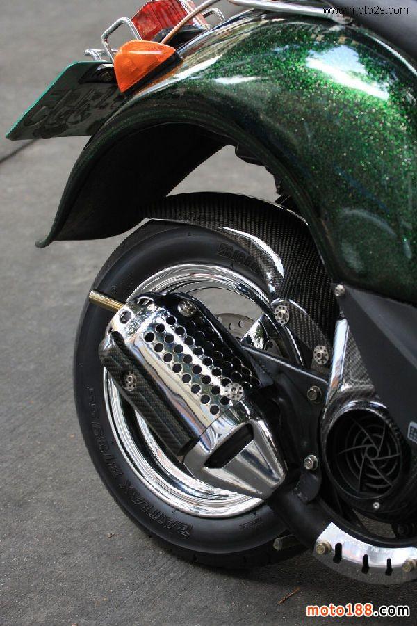 国际资讯_向经典致敬 缤纷Honda Dio改装车系_改装_技术维修_摩托车与配件网