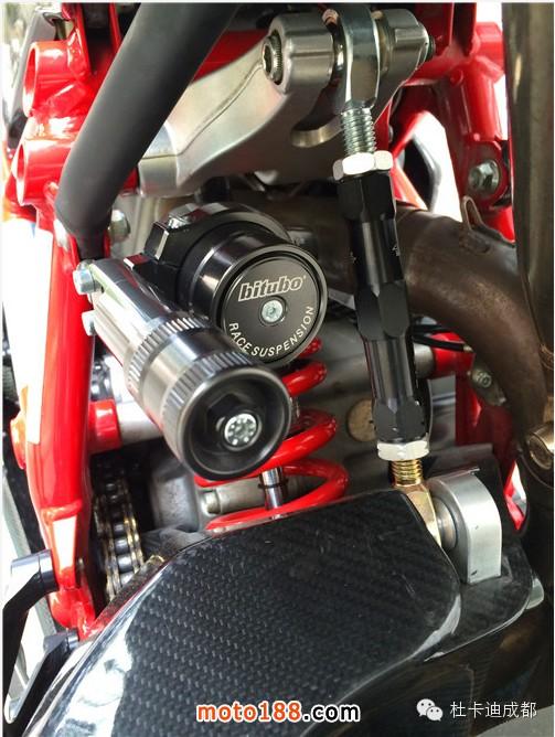 毒品级改装鉴赏 杜卡迪superbike 848 Evo 改装 技术维修 摩托车与配件网