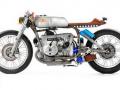 经典传奇 外国车友改装BMW R100摩托