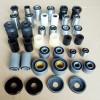 专业生产中轴平叉套,后轮毂缓冲块,摩托车减震套及各种轴套衬套